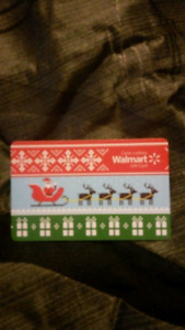 $100 Wal-Mart Gift Card NEW   ***Asking Only $85!!***