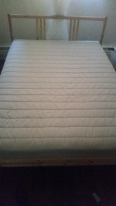 DOUBLE MATTRESS FULL BED  SULTAN FROM IKEA