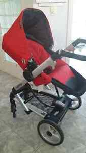 Peg Perego Skate Stroller full set (bassinet incl)