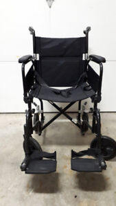 AMG Airgo Comfort-Plus Lightweight Transport Chair