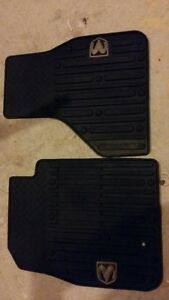 Dodge Ram all weather floor mats