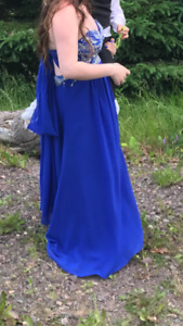 Blue prom dresse for sale
