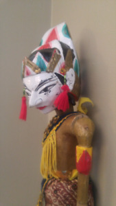 Vintage Indonesian Puppet $50