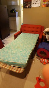 Comfy pull out love seat