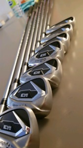 Taylormade M3 irons (used ONLY 1 round)