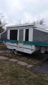 2001 12ft starcraft venture pop up in great shape for sale
