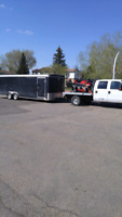 Truck n trailer going to alberta feb16