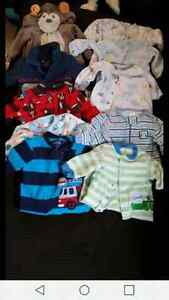 0-3 month baby boy lot