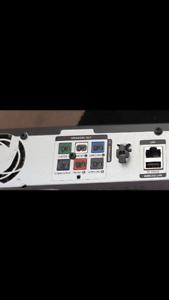 5.1 channel, 1000 watt, 2 tower speakers