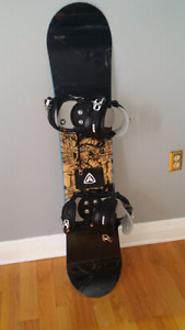 Rossignol Snowboard with Firefly bindings!