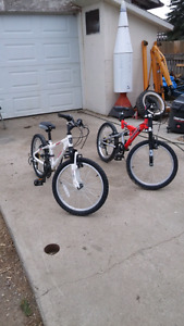 2 original boys bicycles for sale