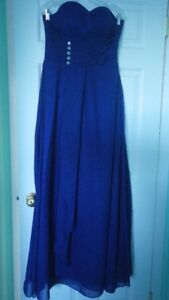 Beautiful Royal Blue Evening/Prom Dress