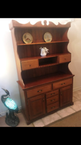 Cherrywood Hutch For Sale