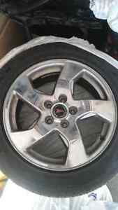 225/55R17 Rims and tires!!