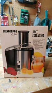 2 blend pro juice extractors new in boxes