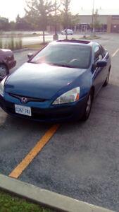 Asking $1800 Honda Accord Coupe 647-761-0001