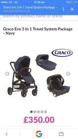 Graco travel system/pushchair