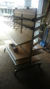 Package Deal on Portable Shelving Units