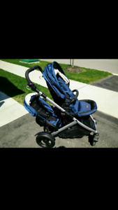 EUC Britax B Ready stroller with second seat (plus extra's)