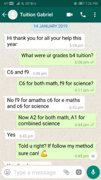 Ex school teacher A/E math and science full time tutor results guaranteed