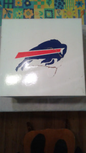 RARE BUFFALO BILLS DISH SET
