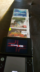 Nintendo 3DS XL +3 games only 170$ 3D system