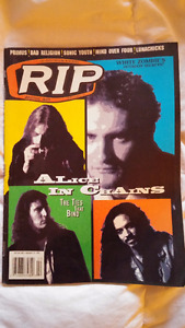 RIP magazine february 1996 Alice in chains collectible