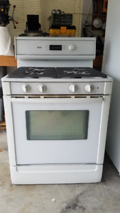 Gas range, electric oven Bosch 30""