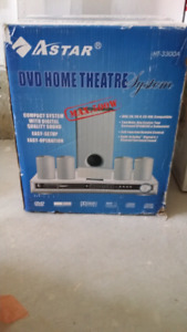 A star DVD with home theater