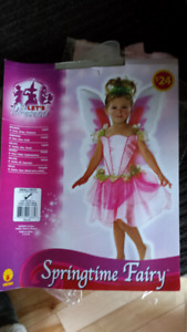 Costume fée 4-6 ans NEUF
