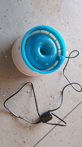 Dog cat electric water bowl