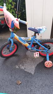 kids Spider man bike.