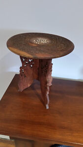 Handcrafted Wooden Stand