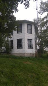 Development Land with House, Barn, 3 Bay garage