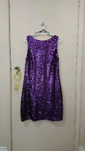 Beautiful purple dress-never used-special occasion.