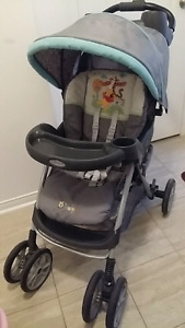 Stroller w/ matching carseat and base