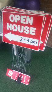 Open House Signs Kitchener / Waterloo Kitchener Area image 1