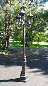 2 Four Light Outdoor Pole/Post Mount lights