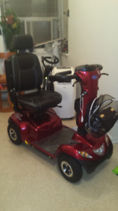 Invacare Pegasus 4 Wheel Scooter $2000 or Best Offer