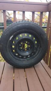 4 pneus d'hiver ALTIMAX ARCTIC de GeneralTire sur jantes