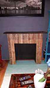 Handcrafted Rustic Fireplace  Peterborough Peterborough Area image 2