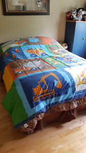 Construction Comforter for Double Bed