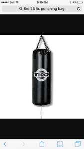 25 pound TKO Punching bag
