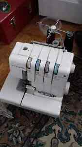 Singer Sewing Machine & Janome Serger