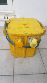 110 volt 5KVA Transformer used and in great condition.