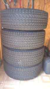 Tires and rims for sale West Island Greater Montréal image 1