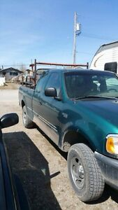 1998 ford f150 with a plow