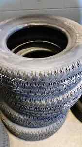 LT 275/65 R18  four Michelin all season tires with 80%!  Kitchener / Waterloo Kitchener Area image 2