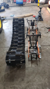 141x2.25 track and skid and Ez jacker 1.9