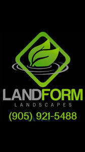Commercial snow removal by Landform Landscapes